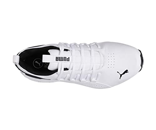adb9bb86f54f40 Puma Hexa Dot IDP White  Buy Online at Low Prices in India - Amazon.in