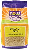 NOW Foods Oats Steel Cut, 32-Ounce (Pack of 8)