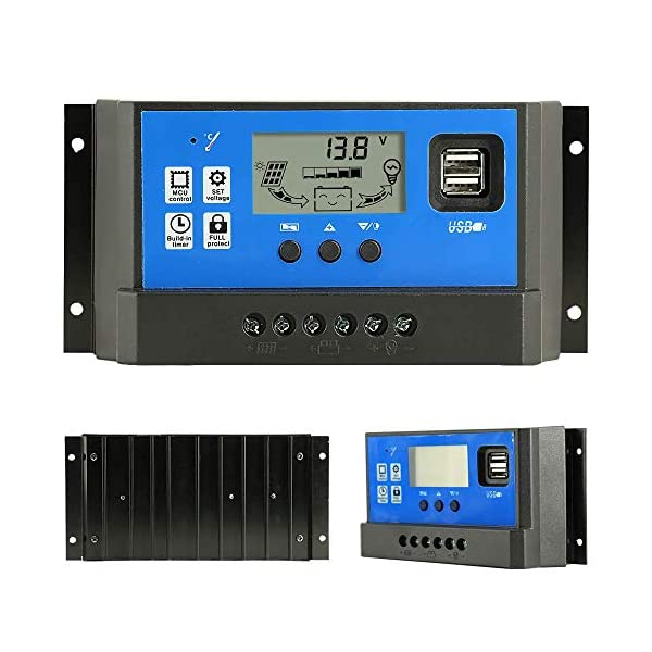 PowMr-40A-Charge-Controller-Solar-Panel-Charge-Controller-12V-24VAdjustable-Parameter-LCD-Display-CurrentCapacity-and-Timer-Setting-ONOff-with-5V-Dual-USBCM-40A