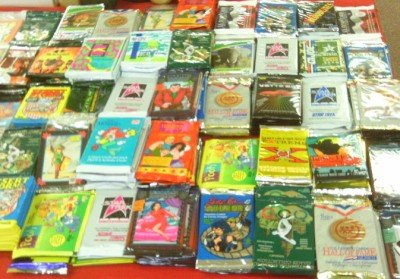 Huge LOT of 500 Assorted Non Sport & Sports Cards Trading Packs. All Fresh Factory Sealed Un-opened Packs!!! from Mixed