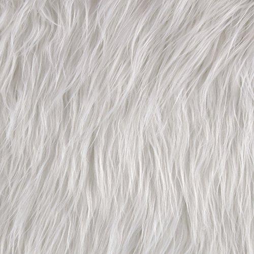 Shannon Faux Fur Gorilla White ()
