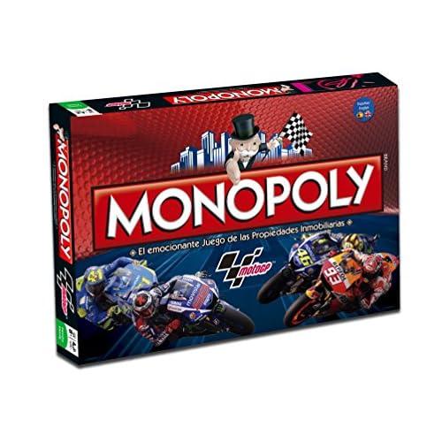 Moto GP–Jeu Monopoly, couleur rouge (Eleven Force 82929)