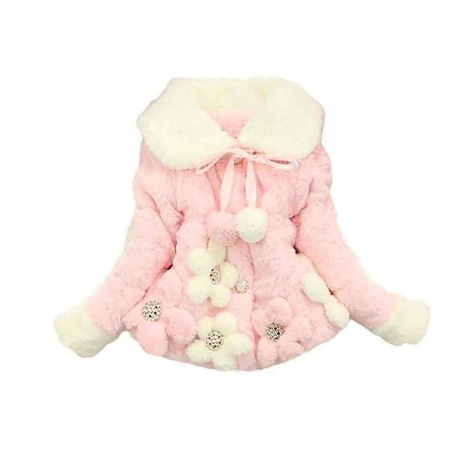 cde592c98c9f Kingko® 0~24 Months Baby Girls Infant Winter Outwear Warm Coat ...
