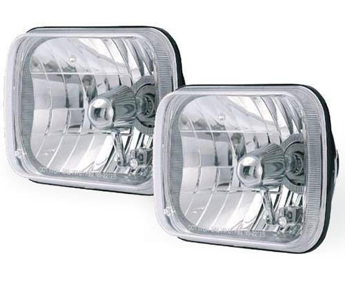 Conversion Jeep Kit Wrangler (RAMPAGE PRODUCTS 5089927 Clear Universal Halogen Conversion Headlight Kit)