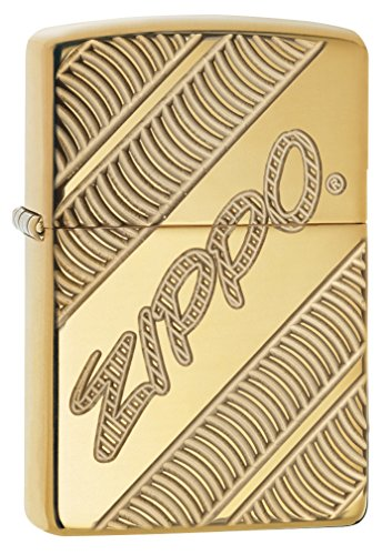 Zippo Coiled High Polish Brass Lighter