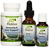 PetAlive Ear Doctor, Immunity & Liver Support and PetCalm UltraPack