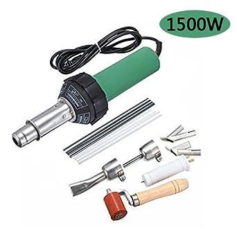 Ridgeyard 1500W soldadura plástico soldador pistola / plástico / Pistola de aire caliente: Amazon.es: Industria, empresas y ciencia