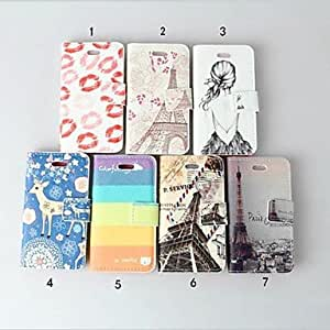 Flip Leather Wallet Case Card Holder Cover Stand for iPhone 4 and 4S , 4