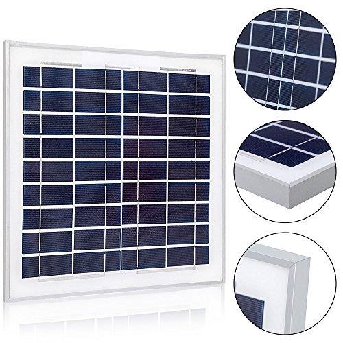ACOPOWER 15Watt 15W Polycrystalline Photovoltaic PV Solar Panel Module 12v Battery Charging