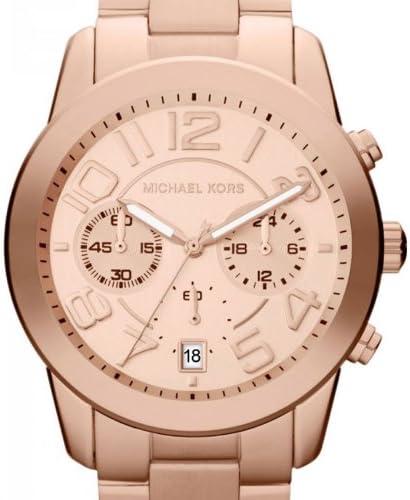Michael Kors - MK5727 - Montre Femme - Quartz Chronographe - Chronomètre - Bracelet Acier Inoxydable Plaqué Or Rose