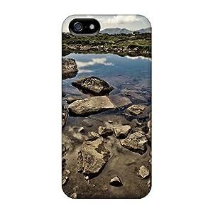 Anti-scratch And Shatterproof Hdri River Phone Case For Iphone 5/5s/ High Quality Tpu Case