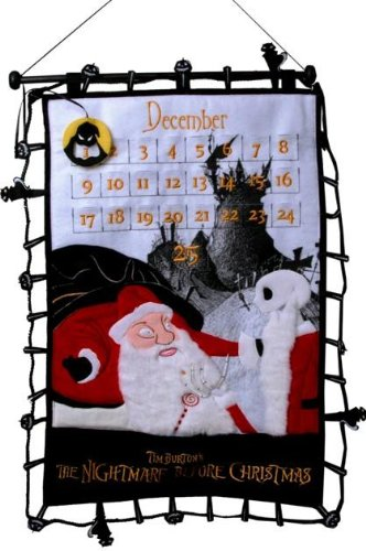 Amazon.com : Nightmare Before Christmas Christmas Countdown Plush ...