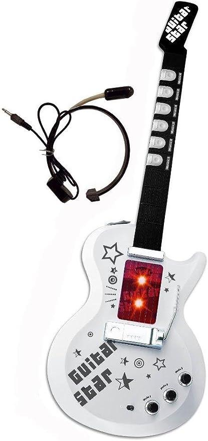 Gui5862A - Guitarra con micrófono y altavoz para niños y ...