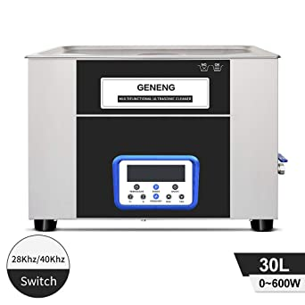 Dual Frequency 30L Limpiador ultrasónico de partes sistema de ...