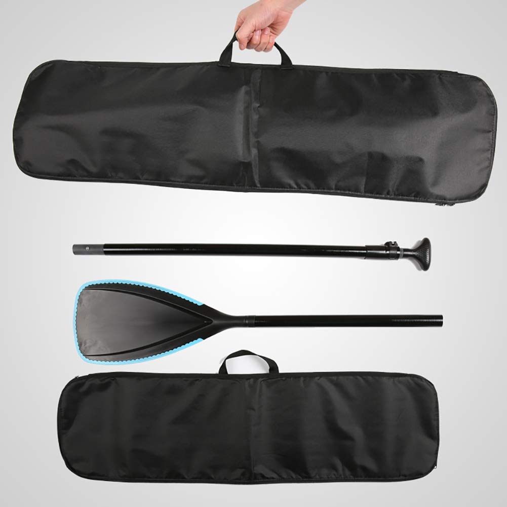 QEES Premium SUP Paddle Bag Adjustable Stand Up Kayak Paddles 37.7x10.6 Portable Mesh Tote Bag for Kayak Paddle JJZ147