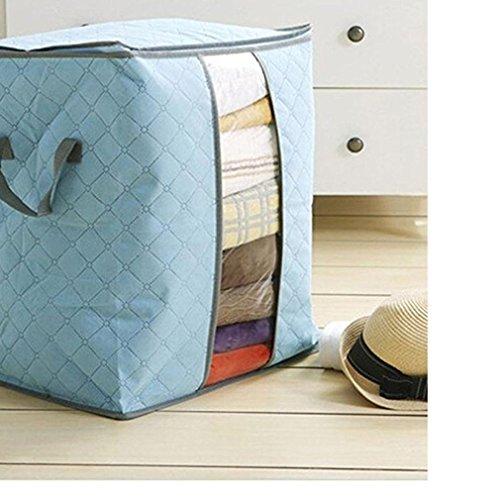 Storage bag, Waroomvan Hot Sale Portable storage box Organizer No fabric Underbed bag storage bag (Underbed Unit)