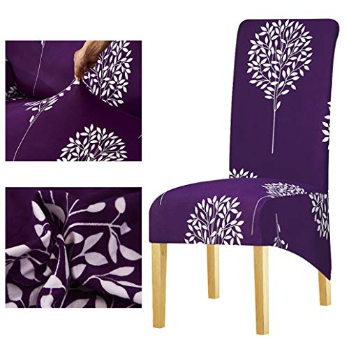 Drew Toby Chair Cover Europe Style Long Back Print Removable High Dining Hotel Party Banquet Seat Covers (Near Me Outdoor Restaurants Patio)