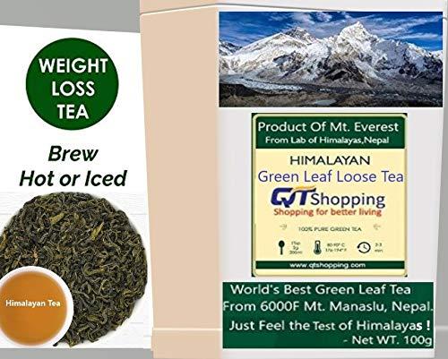 Himalayan, hojas de té verde orgánico de Himalayas, Nepal ...