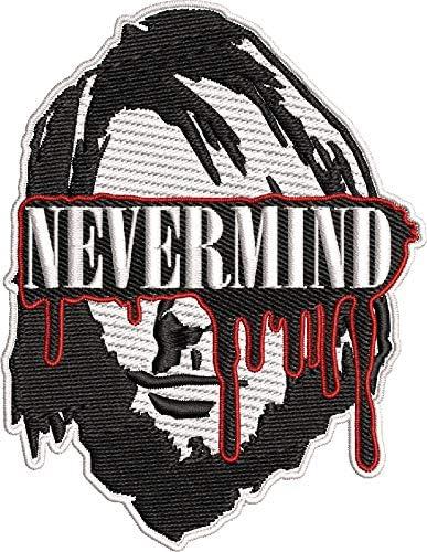 ROCK METAL MUSIC SEW ON /& IRON ON PATCH:- NIRVANA NEVERMIND KURT PUNK POP