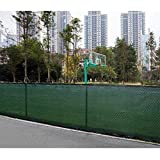 Tangkula 6'x50′ Privacy Fence Screen Outdoor Windscreen UV-Resistant Fade-Proof Large Visibility Blockage Durable Waterproof Fabric All Weather Privacy Fencing Review