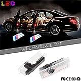 Ricoy M Logo para BMW LED paso puerta cortesía luz de bienvenida Ghost sombra láser proyector
