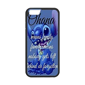 "[bestdisigncase] For Apple Iphone 6,4.7"" screen -Lilo and Stitch - Ohana PHONE CASE 4"
