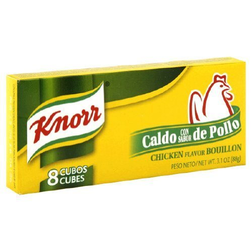 Knorr Chicken Flavor Bouillon - 3.1 oz. (Pack of 12)