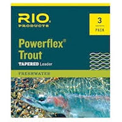 Rio Powerflex Trout Leaders, 9 Foot, 3 Pack by Rio Brands