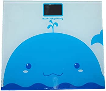 V-OPQ Digital Scale, Fashion Cartoon Human Body Fat Measuring Instrument Scale With Hidden Display Big Feet Pad,for BMR,Muscle Mass,BMI,For Home