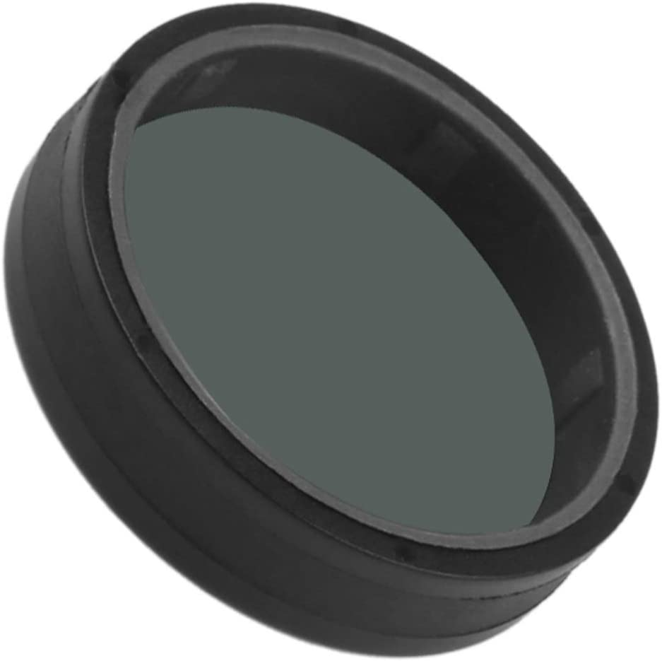 Color : Black CAOMING for Xiaomi Mijia Small Camera 38mm ND Dimmer Lens Filter Durable