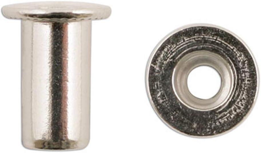 A-RM4 Nietmuttern M4 Stahl galvanisch verzinkt 50 St/ück//Packung