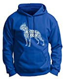 Dog Clothes Boston Terrier Word Art Dog Puppy Owner Gift Premium Hoodie Sweatshirt Small Royal