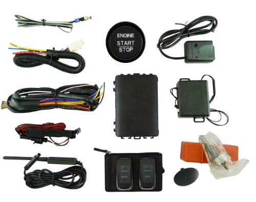 EasyGO (AM-UNIVERSAL-R) Universal Smart Key System with Remote Start,  Proximity Entry and Vehicle Security (1987 Isuzu Impulse Engine)