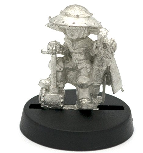 Stonehaven Gnome Demolitions Expert Miniature Figure (for 28mm Scale Table Top War Games) - Made in USA