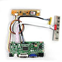 VSDISPLAY HDMI VGA DVI Audio LCD Driver Board For 15.6 LP156WH1 LTN156AT01 1366x768 1CCFL 30Pin LCD Panel