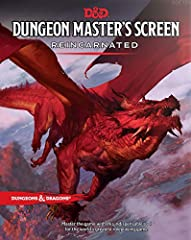 MASTER THE GAMEwith this indispensable tool for the world's greatest roleplaying gameLost is the poor soul borne aloft in the grip of the ancient red dragon featured in a spectacular panoramic vision by Tyler Jacobson on this durable, four-pa...