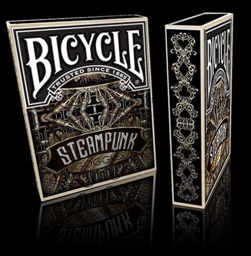 Bicycle Steampunk Goggles Playing Cards Deck 3