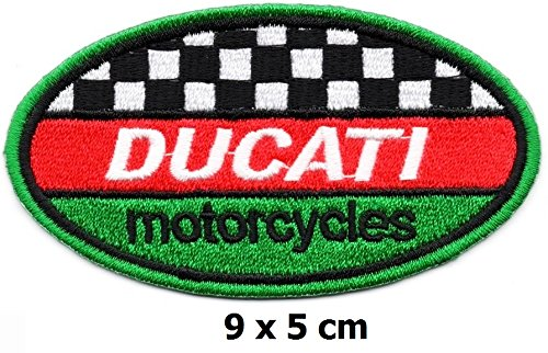 Ducati Iron on Logo Vest Jacket cap Hoodie Backpack Patch...