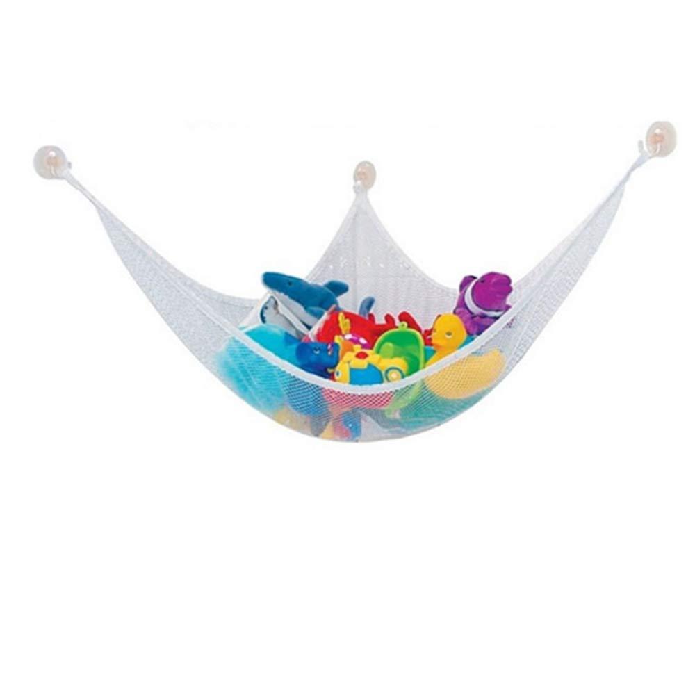 SunnyClover Toy Storage Hammock Toy Storage Supplies Keep Bedroom Tidy Supplies Mesh Storage Hammock for Children and Kid 1PCS