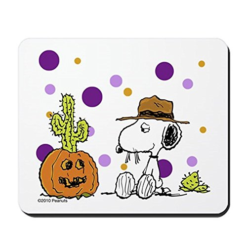 CafePress - Spikey Halloween - Non-Slip Rubber Mousepad, Gaming Mouse Pad