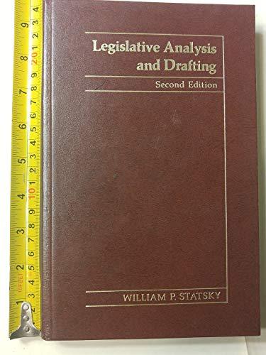 Legislative Analysis and Drafting