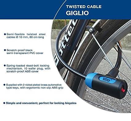 Cerradura de cable trenzada de alta calidad GIGLIO ...