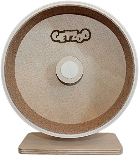 Ø 20 cm Getzoo Holzlaufrad mit Korklauffläche