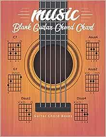 Amazon.com: Blank Guitar Chord Chart: Manuscript Music ...