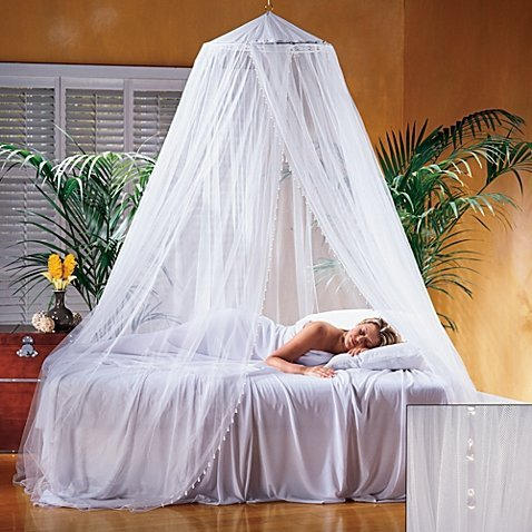 Nile Bed Canopy Suitable For All Bed Sizes ()