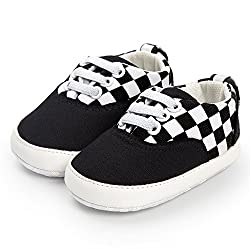 Little Story Baby Girl Boys Frenulum Canvas Shoes Sneaker Anti-Slip Shoes Baby Lace Up