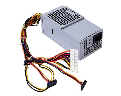 250W Power Supply for DELL Optiplex 390 790 990 3010 Inspiron 537s 540s 545s 546s 560s 570s 580s 620s Vostro 200s 220s 230s 260s 400s Studio 540s 537s 560s Slim Desktop DT Systems D250AD-00 L250NS-00 by Andesireone