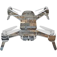 Skin For Yuneec Breeze 4K Drone – Gray Wood | MightySkins Protective, Durable, and Unique Vinyl Decal wrap cover | Easy To Apply, Remove, and Change Styles | Made in the USA