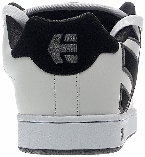 EtniesFADER - Zapatillas de Skateboard Hombre white/dark grey