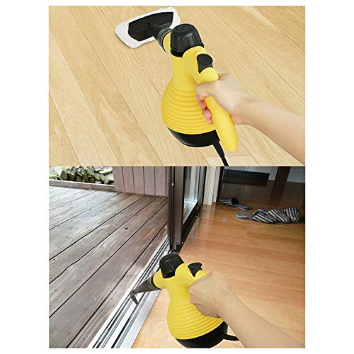 Mahaishangmao Handheld Steam Cleaner Household Steam Cleaner Multi-Purpose Handheld Pressurized Chemical-Free Steam Deep Clean 1050W for Indoor Outdoor Kitchen Bathroom Pet Toilet Clothing